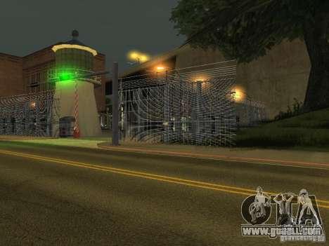 Bus Park v1.1 for GTA San Andreas second screenshot