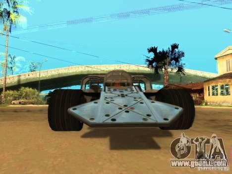 Fast & Furious 6 Flipper Car for GTA San Andreas left view