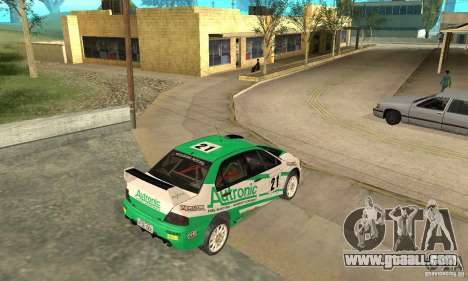 Mitsubishi Lancer Evolution IX for GTA San Andreas wheels