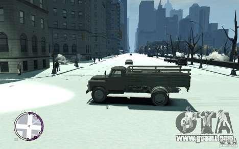 GAZ 53 for GTA 4 left view