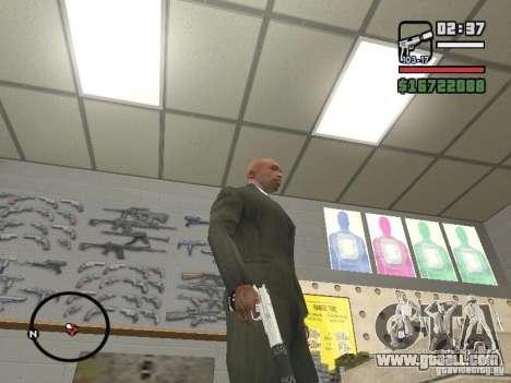 Silverballer silenced from Hitman for GTA San Andreas third screenshot