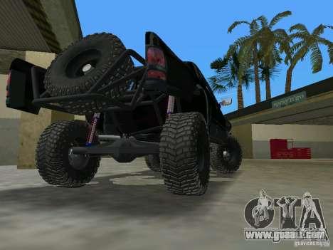 Dodge Ram Prerunner for GTA Vice City back left view