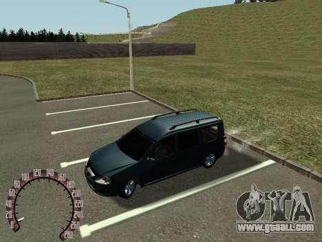 Lada Largus for GTA San Andreas left view