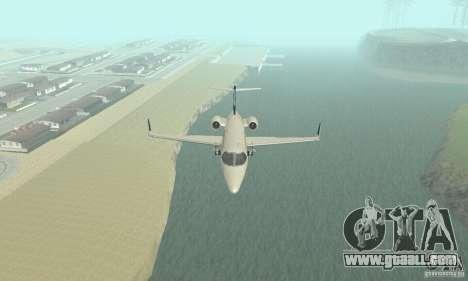 Bombardier Leardjet 45XR for GTA San Andreas