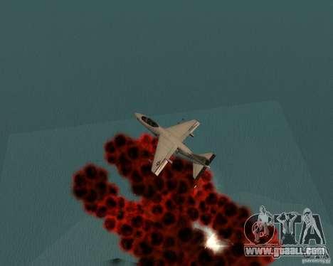 Cluster Bomber for GTA San Andreas sixth screenshot