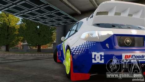 Subaru Impreza WRX STI Rallycross BFGoodric for GTA 4 right view