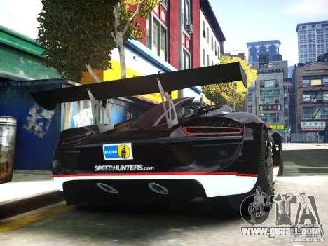Porsche 918 Spider Body Kit Final for GTA 4 right view