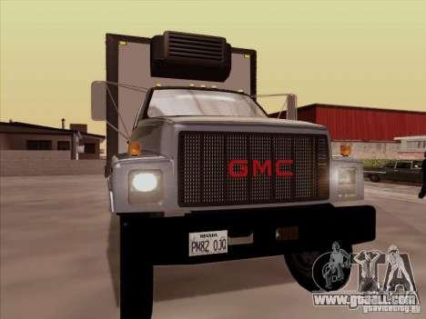 GMC Top Kick 1988 for GTA San Andreas left view