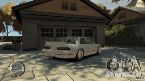 Nissan Silvia s13 Drifted v1.0 for GTA 4 left view