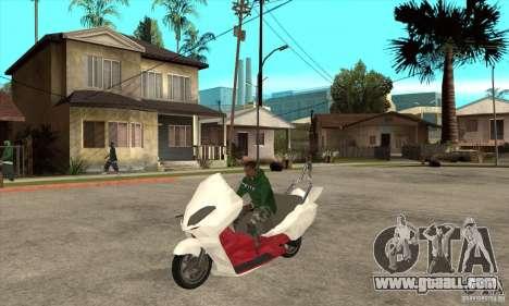Honda Forza for GTA San Andreas