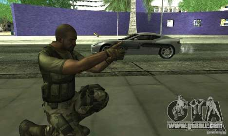 Sam Fisher Army SCDA for GTA San Andreas forth screenshot