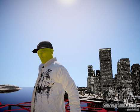 Niko The Mask for GTA 4 forth screenshot