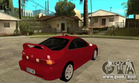 Acura Integra Type-R - Stock for GTA San Andreas right view