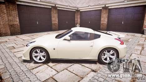 Nissan 370Z Nismo v1 for GTA 4 left view