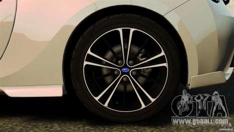 Subaru BRZ Rocket Bunny Aero Kit for GTA 4 inner view