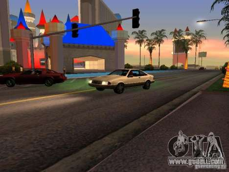 Graphics from the console versions for GTA San Andreas second screenshot