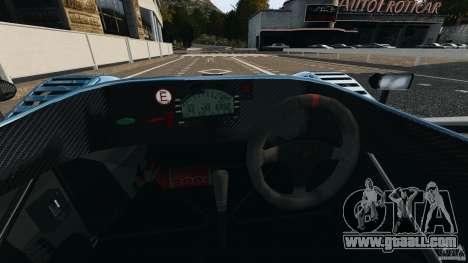 Radical SR3 for GTA 4 back view