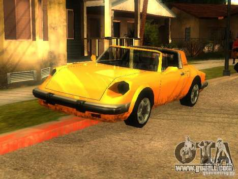 New Car in Grove Street for GTA San Andreas