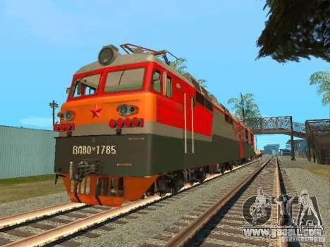 Vl80m-1785 RUSSIAN RAILWAYS for GTA San Andreas