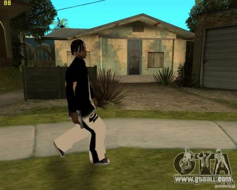 Grove at najke for GTA San Andreas second screenshot