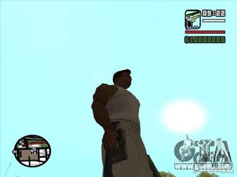 USP 45 for GTA San Andreas second screenshot