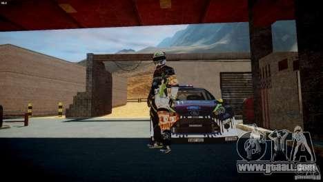 Ken Block Gymkhana 5 Clothes (Unofficial DC) for GTA 4 fifth screenshot