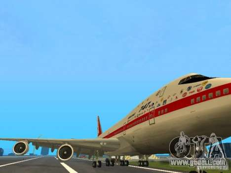 Boeing 747-100 for GTA San Andreas left view