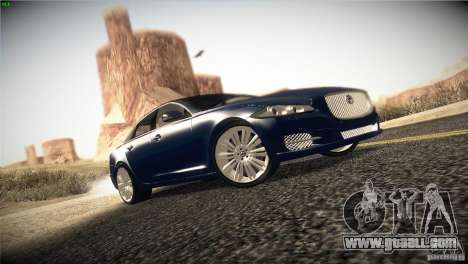 Jaguar XJ 2010 V1.0 for GTA San Andreas