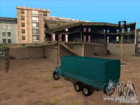 ZIL-133GÂ for GTA San Andreas back view