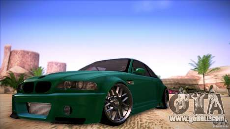 BMW E46 Drift II for GTA San Andreas