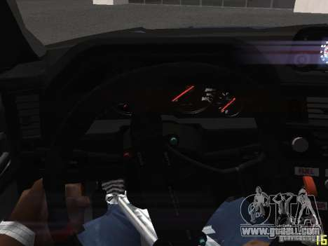 Nissan Skyline GT-R R34 V-Spec for GTA San Andreas bottom view