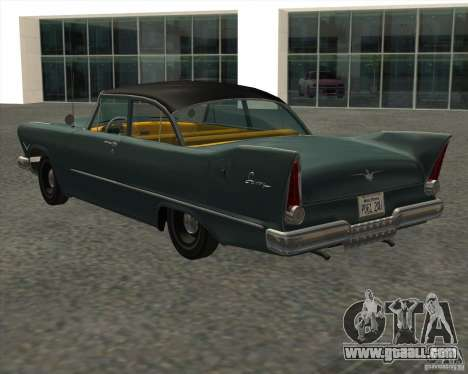 Plymouth Savoy 1957 for GTA San Andreas left view