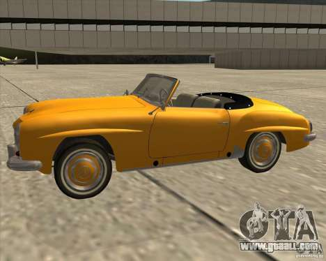 Mercedes Benz 190SL 1960 for GTA San Andreas right view