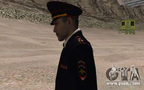 The INTERIOR MINISTRY Officer for GTA San Andreas third screenshot