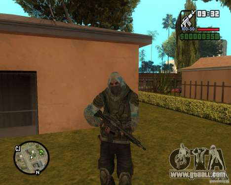 Stalker clear sky from for GTA San Andreas