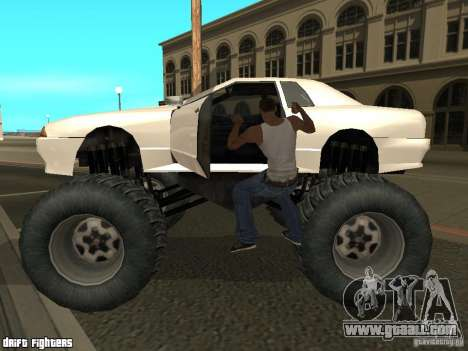 Elegy Monster for GTA San Andreas left view