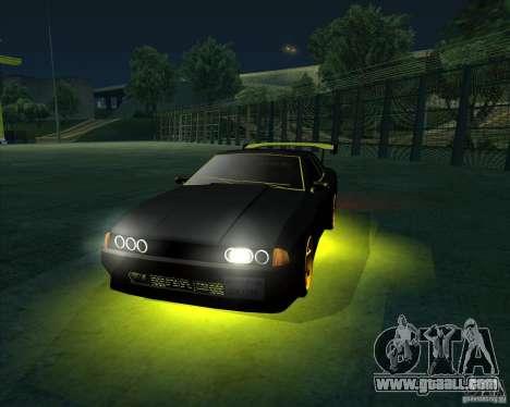 NEON mod for GTA San Andreas fifth screenshot
