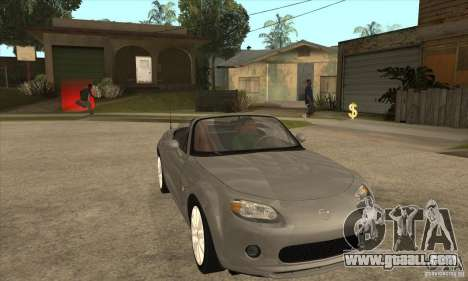 Mazda MX-5 2007 for GTA San Andreas back view