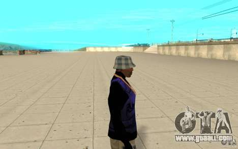 Bronik skin 2 for GTA San Andreas second screenshot