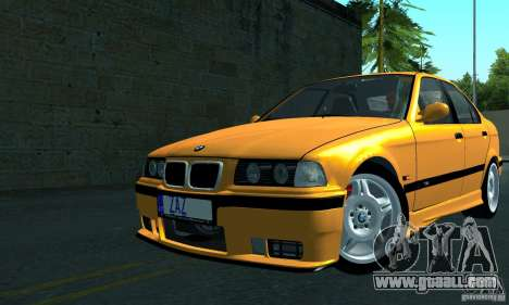BMW M3 E36 for GTA San Andreas back left view