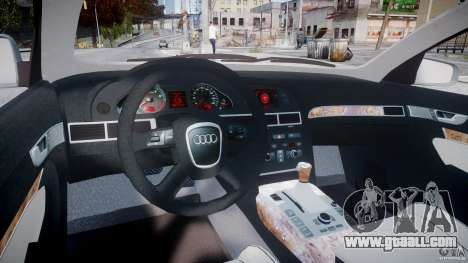 Audi A6 TDI 3.0 for GTA 4 right view