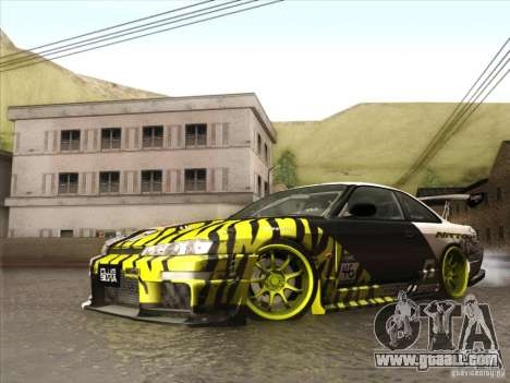 Nissan 200SX S14A for GTA San Andreas inner view