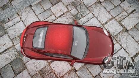 Porsche Cayman S v1 for GTA 4 upper view