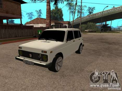 VAZ 2131 for GTA San Andreas inner view