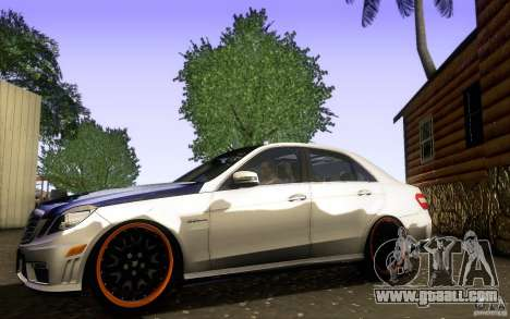 Mercedes Benz E63 DUB for GTA San Andreas left view