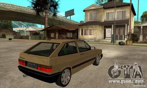 VW Gol GL 1.8 1989 for GTA San Andreas right view