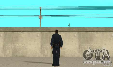 A police officer from GTA 4 for GTA San Andreas third screenshot