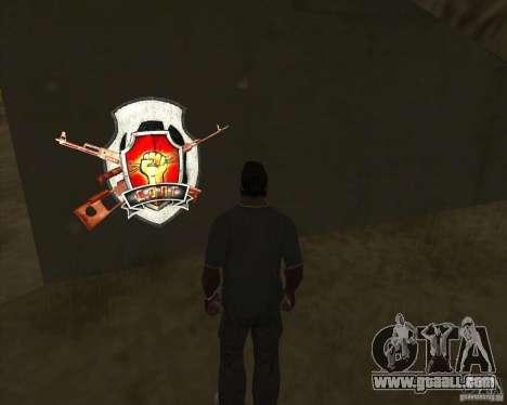 Graffiti stalkers for GTA San Andreas third screenshot