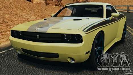 Dodge Rampage Challenger 2011 v1.0 for GTA 4
