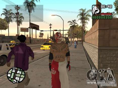Rey Mysterio for GTA San Andreas